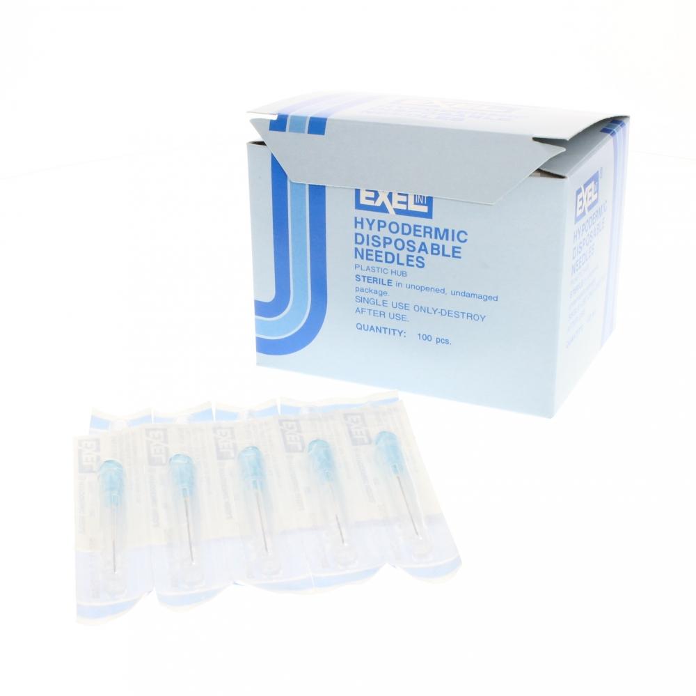 Blue apron drug test - Close Exel 23g X 1 Inch Needle Box 100