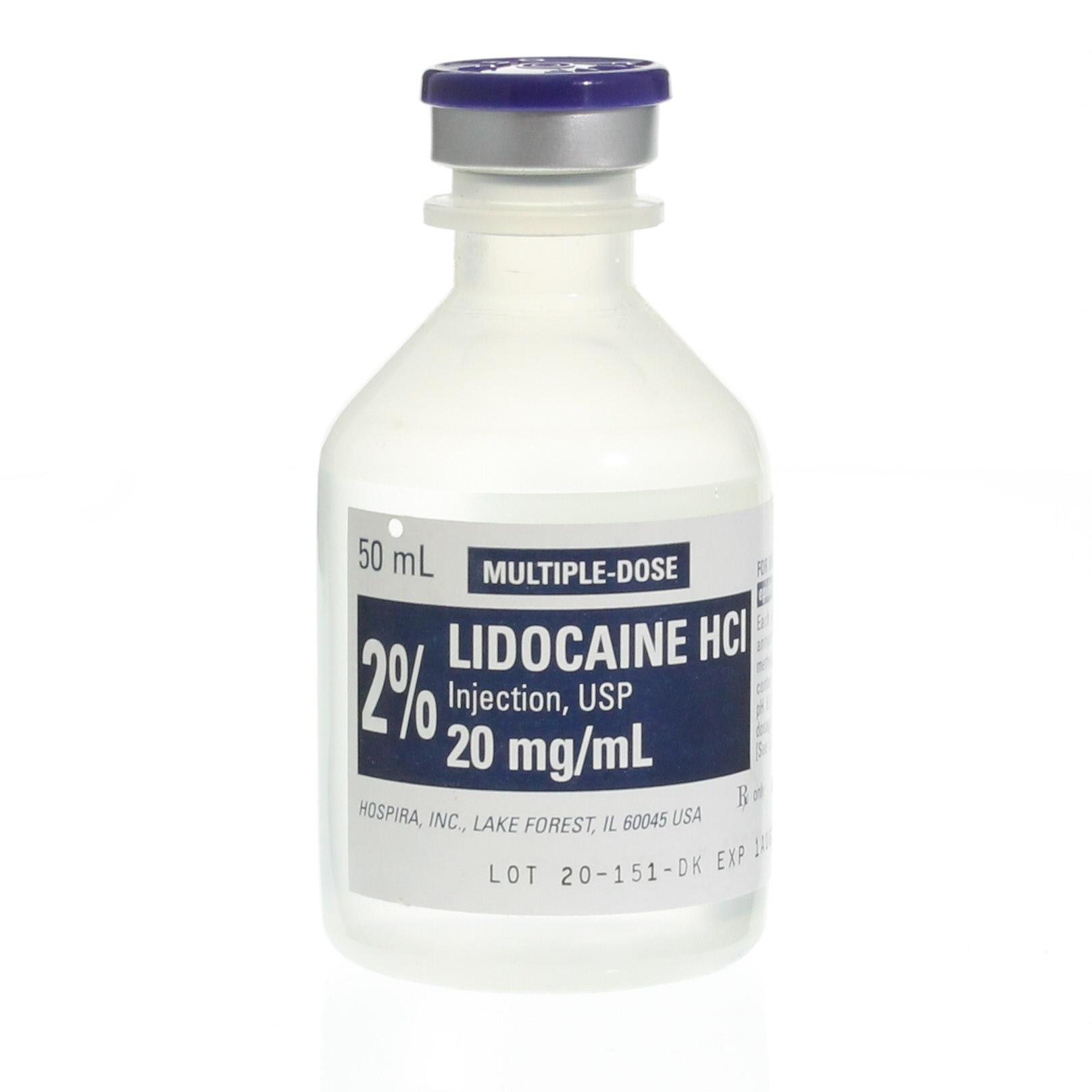 lidocaine injection for numbing